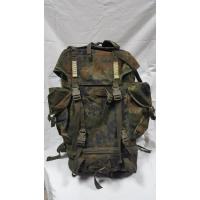 Рюкзак BW, большой, боевой, зеленый горошек, 65 л,  б/у