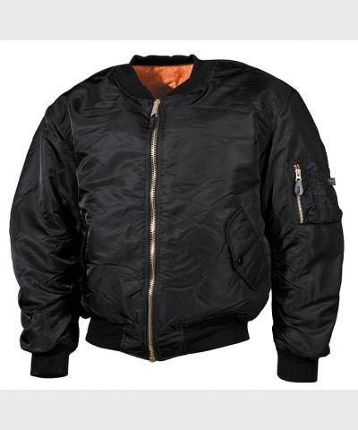 "Куртка пилота US MA1, черная, пр-ль ""Max Fuchs AG"", новая"