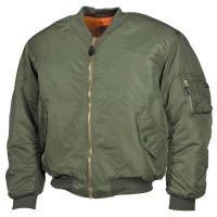 "Куртка пилота US MA1, олива, пр-ль ""Max Fuchs AG"", новая"