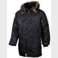 """Куртка """"аляска"""" №3В, черная, с капюшоном , новая, пр-ль """"Max Fuchs AG"""""""
