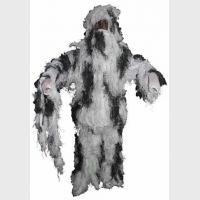 """Маскировочный костюм """"Ghillie Suit"""" (куртка, брюки, шляпа) ,белый, новый, пр-ль """"Max Fuchs AG"""""""