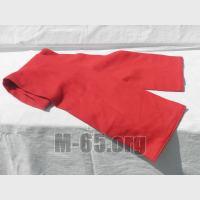 Шарф F, красный узкий, к парадной форме