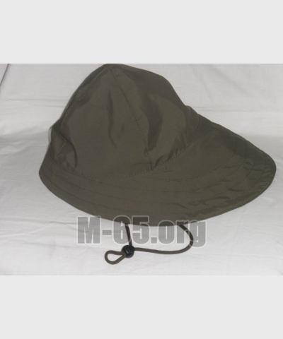 Шляпа AU, рыбацкая, непрмокаемая, хаки, б/у