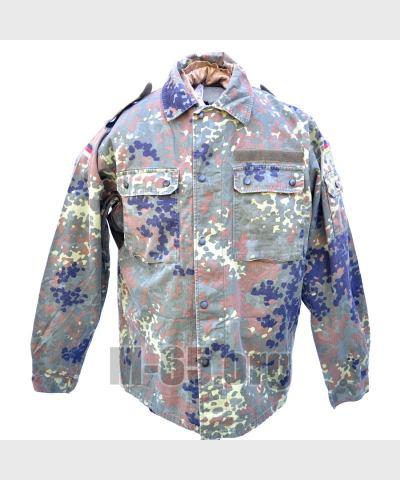 Блуза BW, полевая, тропик, зелёный горошек, лёгкая, б/у