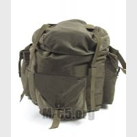 Рюкзак AU, в комплекте- рюкзак+сумка+пояс-разгрузка, хаки, б/у