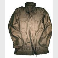 Куртка AU типа М-65, для весны и осени, со свитером-для зимы,б/у