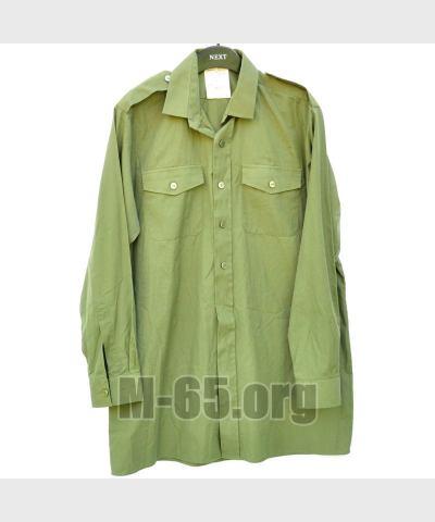 Рубашка GB, зелёная, лёгкая,б/у