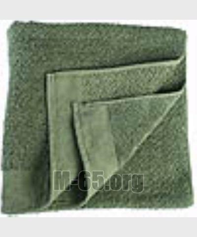 Полотенце NL ,махровое,зеленое, б/у