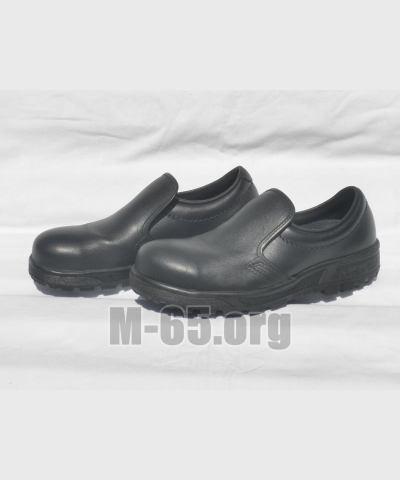 Полуботинки NL, кожаные, черные, резиновая подметка, новые, 38 размер
