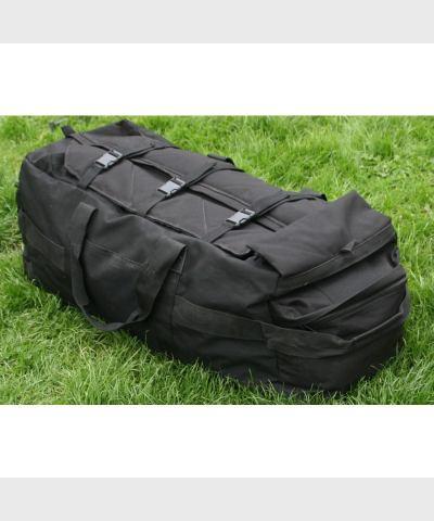 Сумка-рюкзак GB, черный, ручки,лямки , объем 100 л., б/у