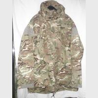 Куртка GB, боевая, MTP, SMOCK, COMBAT WINDPROOF, капюшон, новый универсальный камуфляж британской армии, б/у
