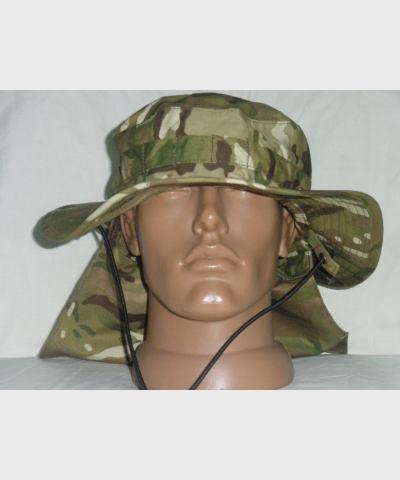 """Шляпа GB, MTP, COMBAT TROPICAL, новый универсальный камуфляж британской армии,новая, пр-ль """"Max Fuchs"""" ( размер L)"""