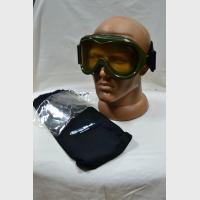 Очки FR, для мотоциклистов, хаки, запасные стекла, чехол, Royal Plastic, 01100 OYONNAX, новые
