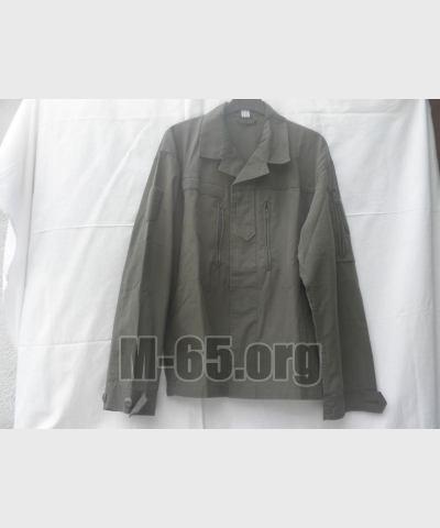 Блуза AU, олива, rippstop, летняя, оригинальный покрой, б/у