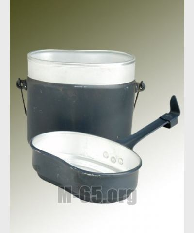 Посуда  (котелок) BW, аллюминий, три предмета,   б/у