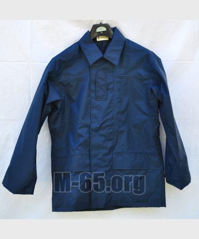 Куртка GB, полицейская, тёмно-синяя,  непромокаемая,б/у