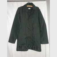 Куртка GB, полицейская, зеленая, непромокаемая, подстежка, погоны, б/у