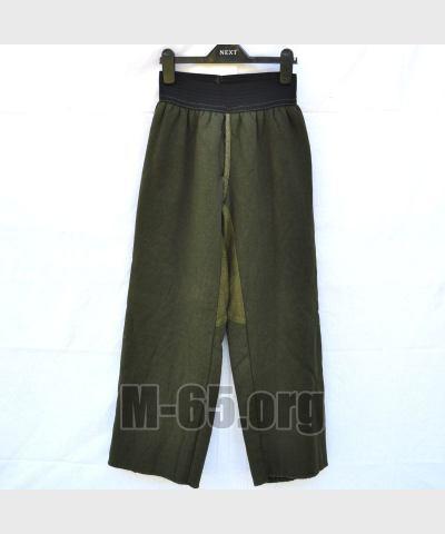 Вставка NL, в брюки, теплая, зеленая, начес, б/у