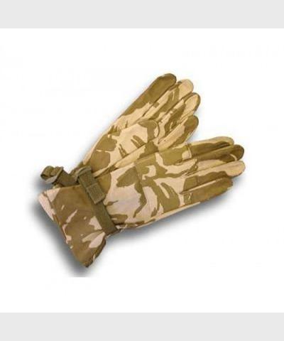 Тактические перчатки COMBAT Warm Leather Desert DPM (размер 10)