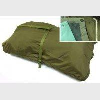 Спальный мешок CZ, комплект (чехол, шерстяная и гигиеническая вкладка), хаки, новый